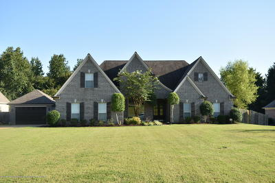 Olive Branch Single Family Home For Sale: 13639 Whispering Pines Drive