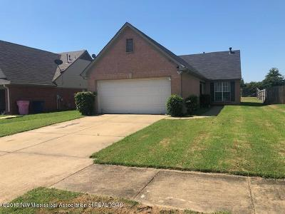 Olive Branch Single Family Home For Sale: 10675 Pecan View Drive