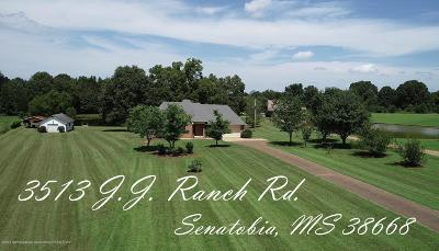 Tate County Single Family Home For Sale: 3515 J J Ranch Road