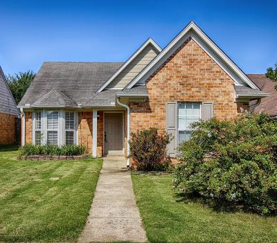 Southaven MS Single Family Home For Sale: $129,900