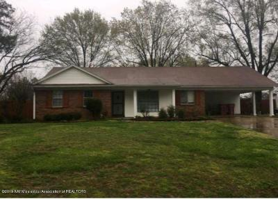 Southaven MS Single Family Home For Sale: $117,200