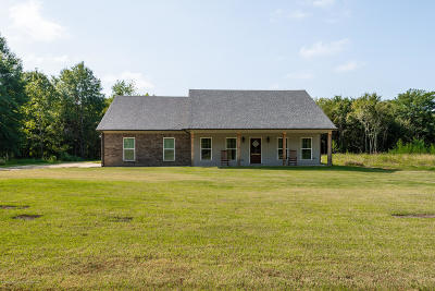 Tate County Single Family Home For Sale: 596 Pigeon Roost Road