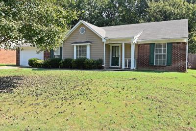 Horn Lake Single Family Home For Sale: 7638 Woodshire Drive