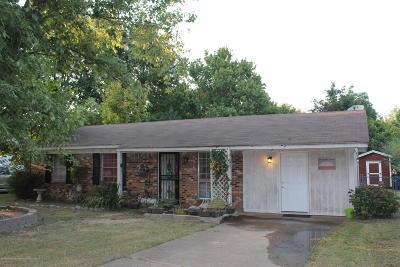 Horn Lake Single Family Home For Sale: 5168 Karen Drive