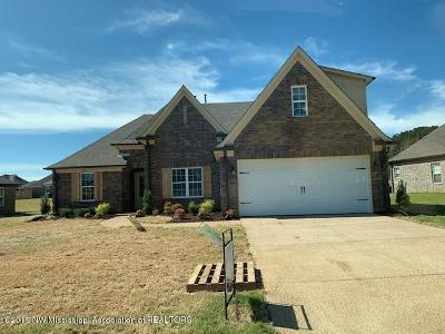 Southaven MS Single Family Home For Sale: $252,900