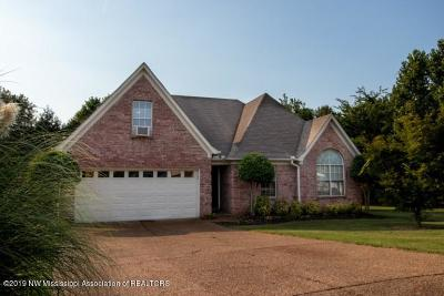 Olive Branch MS Single Family Home For Sale: $190,000
