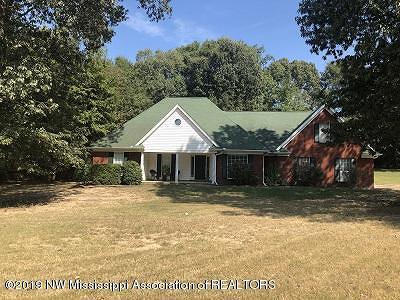 Olive Branch MS Single Family Home For Sale: $279,900