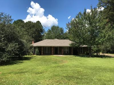 Amite County Single Family Home For Sale: 951 N Old Jackson Rd