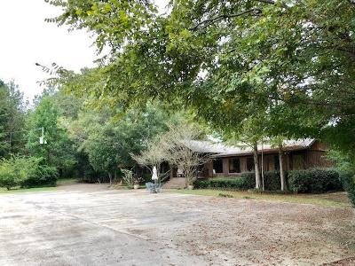 Woodville Single Family Home For Sale: 2874 A Hackett Ford Road