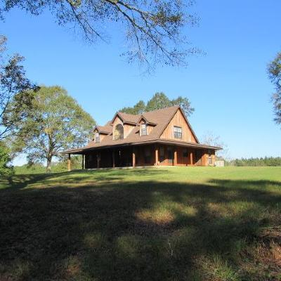 Amite County Single Family Home For Sale: 7601 Hwy 24/48