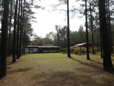 Amite County Single Family Home For Sale: 1350 Homer Road