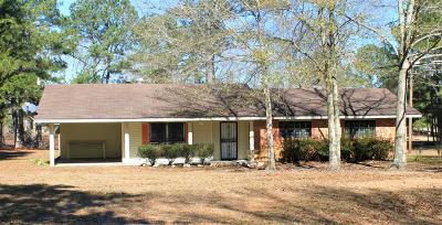 Amite County Single Family Home For Sale: 7427 Hwy 568