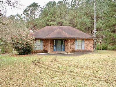 Amite County Single Family Home For Sale: 6029 Hancock