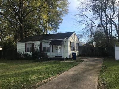 Natchez Single Family Home For Sale: 3804 Englewood Lane