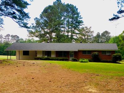 Amite County Single Family Home For Sale: 4604 Ms-584