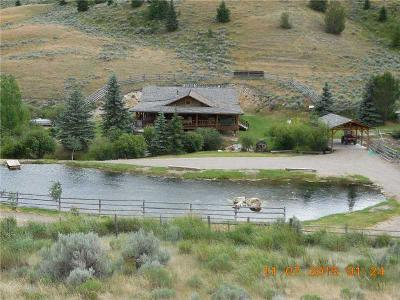 Single Family Home For Sale: 2644 A & B W Fork Little Sheep Creek, Lima, Beaverhead