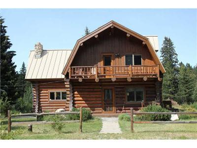 Single Family Home For Sale: 458 Bull Moose Trail