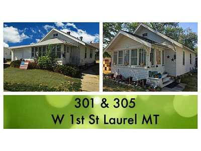Laurel Single Family Home Contingency: 301 & 305 W 1st Street