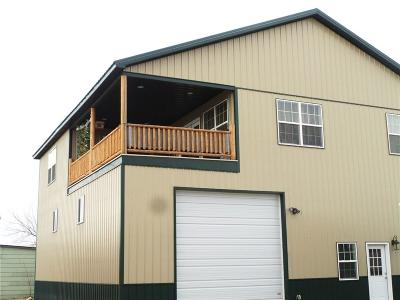 Single Family Home For Sale: 12 W Main St, Sunburst