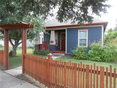 Red Lodge Single Family Home Contingency: 209 Villard