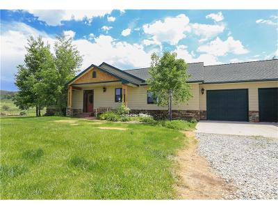 Absarokee Single Family Home For Sale: 2888 Highway 78