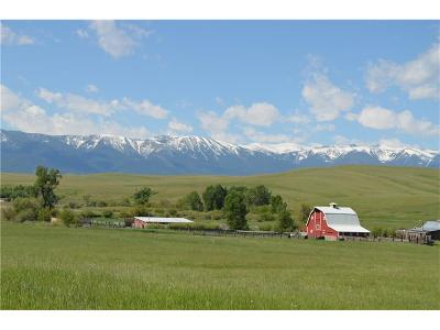 Red Lodge Farm & Ranch For Sale: 1033 Red Lodge Creek Rd