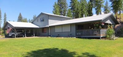 Single Family Home For Sale: 400 Black Bear Dr, Seeley Lake