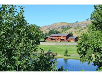 Columbus, Reed Point Farm & Ranch For Sale: 318 Bridger Creek Rd