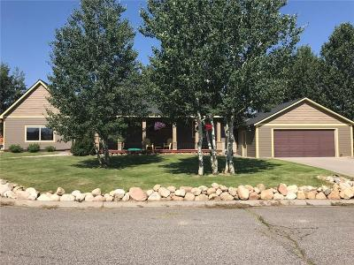Red Lodge Single Family Home For Sale: 209 Barrier Circle West