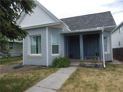 Single Family Home For Sale: 219 S Railroad Ave Dillon, Mt