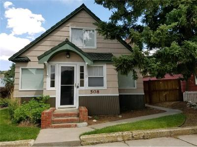 Red Lodge Single Family Home For Sale: 508 Broadway Avenue S