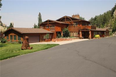 Red Lodge MT Single Family Home For Sale: $1,995,000