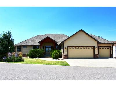 Billings Single Family Home For Sale: 4408 Iron Horse Trail