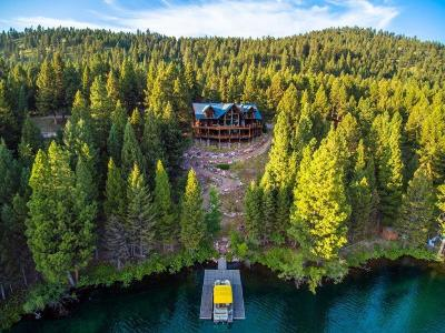Single Family Home For Sale: 759 Perimeter Rd N, Seeley Lake