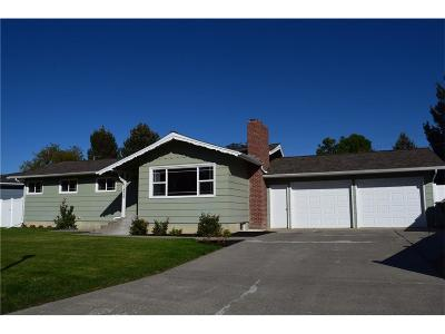 Billings Single Family Home For Sale: 1825 N Mariposa Lane