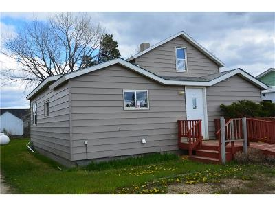 Single Family Home For Sale: 502 S Central Ave Ekalaka Mt.