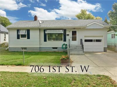 Single Family Home For Sale: 706 1st Street W