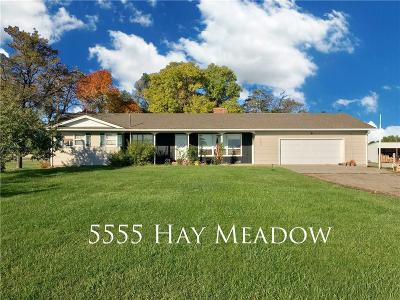 Shepherd Single Family Home For Sale: 5555 Hay Meadow Drive