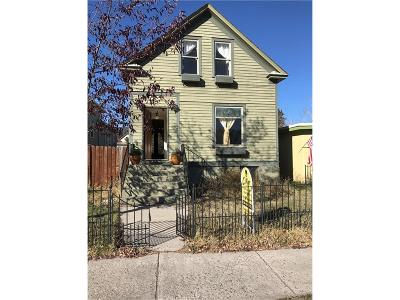 Red Lodge Single Family Home Contingency: 413 Broadway Avenue S