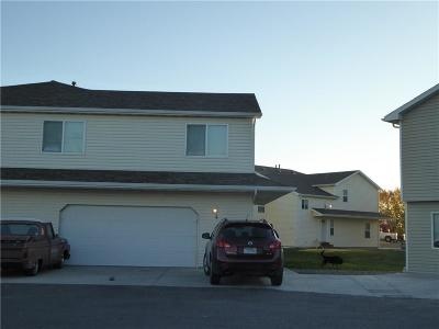 Billings MT Condo/Townhouse For Sale: $181,000