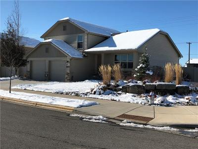 Billings Single Family Home For Sale: 1644 S Castle Stone Square