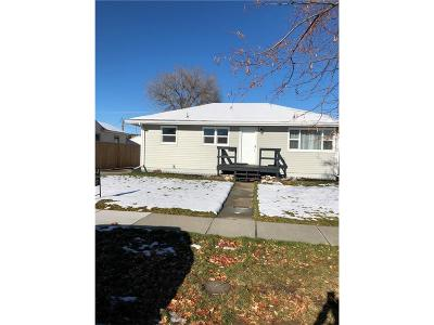 Billings MT Single Family Home For Sale: $209,500