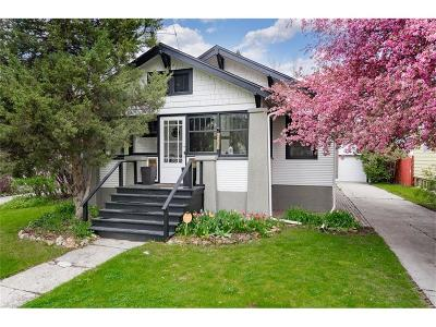 Billings Single Family Home For Sale: 523 Yellowstone Avenue
