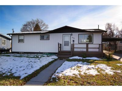 Billings MT Single Family Home For Sale: $174,900