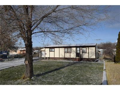 Billings MT Single Family Home For Sale: $90,000