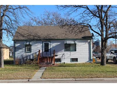Single Family Home For Sale: 15 N Choteau Avenue