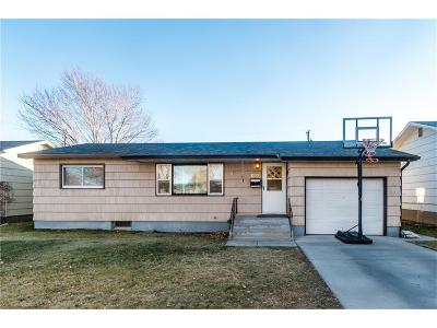 Billings Single Family Home For Sale: 1522 Cook Avenue