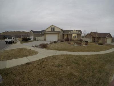 Billings MT Single Family Home For Sale: $337,500