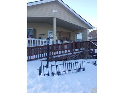 Billings MT Single Family Home For Sale: $160,000