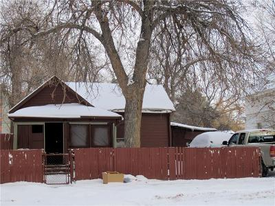 Billings MT Single Family Home For Sale: $49,900